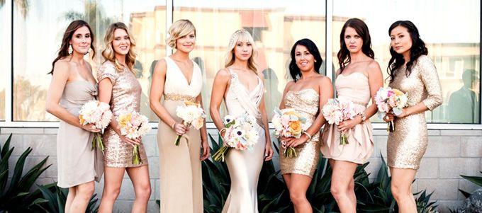 Die neuen Richtlinien für die Auswahl des Outfits ihrer Brautjungfern!
